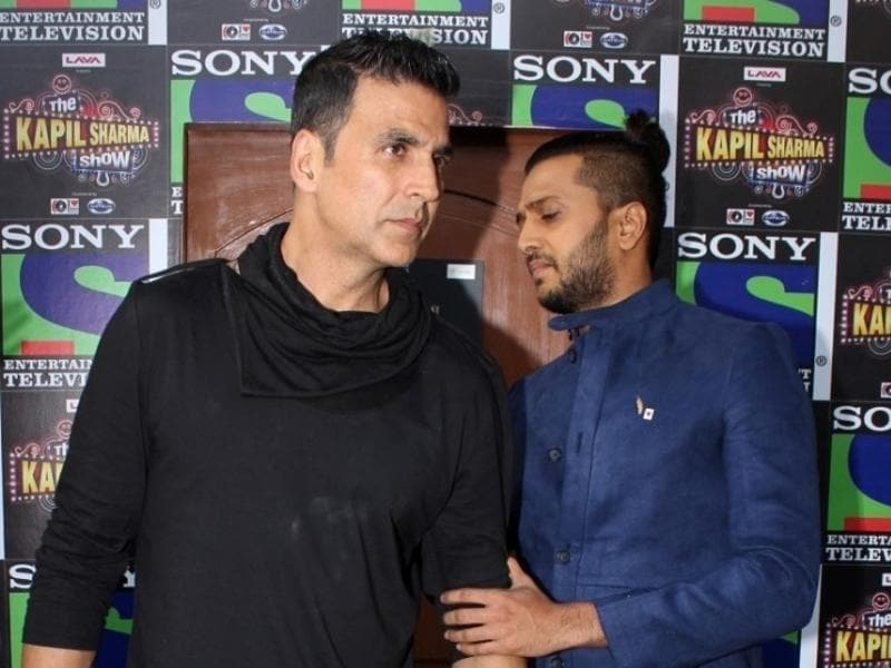 It shouldn't come as a surprise that actors Akshay Kumar and Riteish Deshmukh gel well.   (IANS)