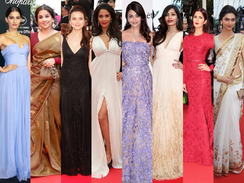 At the Cannes red carpet, not just Hollywood actresses, Bollywood divas too leave their mark. Here's a throwback to 11 desi fashionistas who dressed to kill.