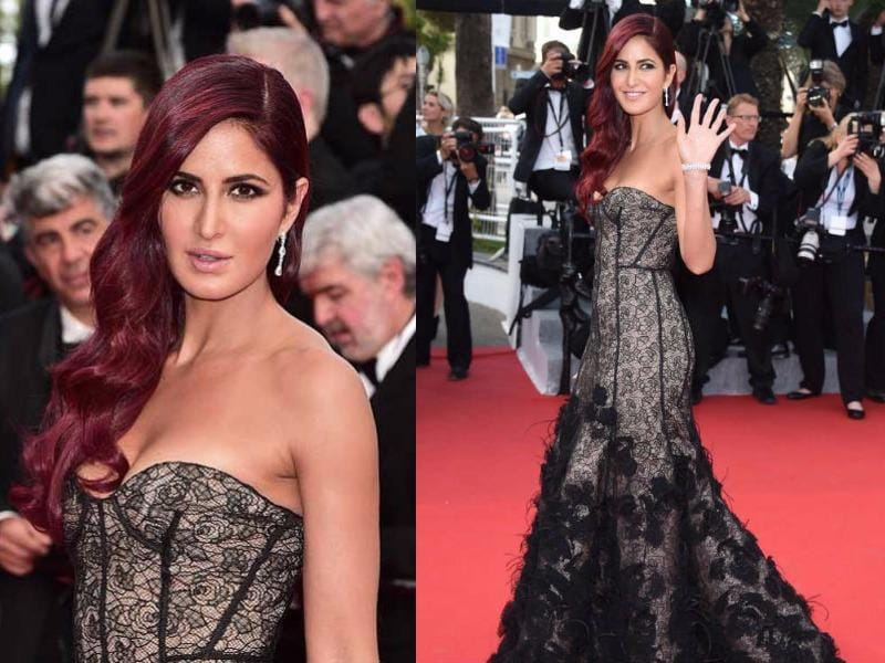Katrina Kaif made her Cannes red carpet debut in 2015, as the ambassador of cosmetic brand L'Oreal Paris. (Agencies)