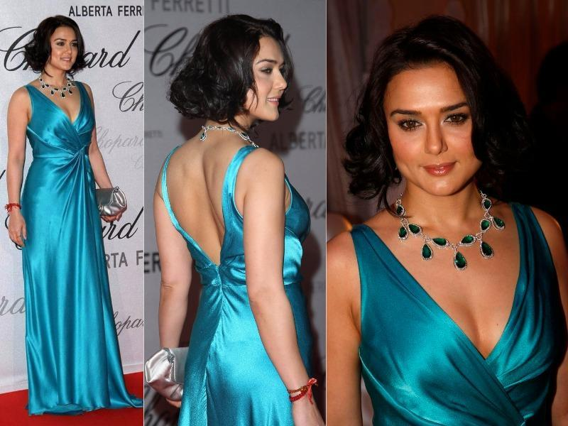 Not many know that Preity Zinta too made her debut at Cannes in 2006. (Agencies)