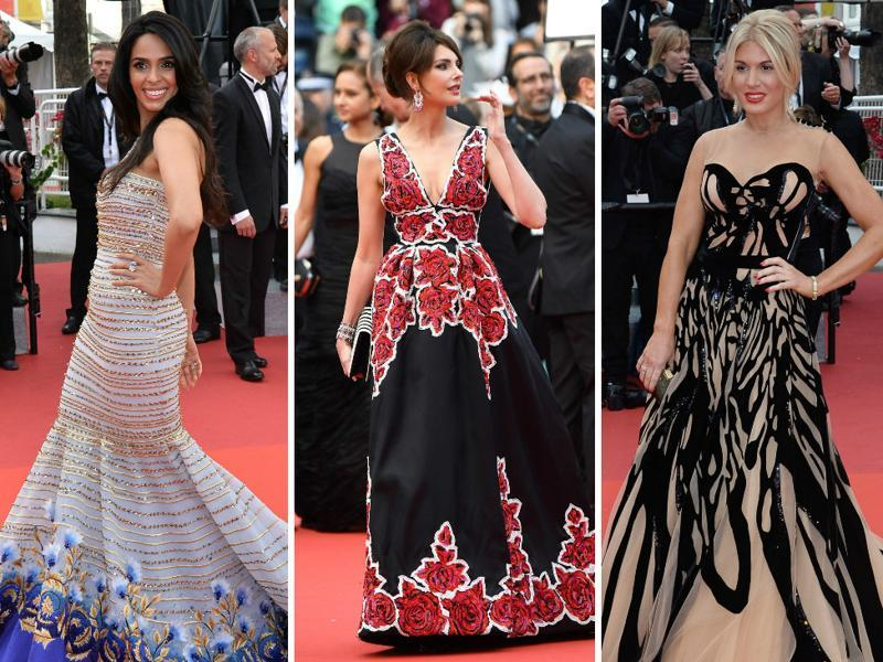 The 69th Cannes Film Festival opened on Wednesday at the Palais des Festivals et des Congrès in the French Riviera town. Actors and directors  across the globe dazzled the red carpet with their glamorous appearances. (Agencies)