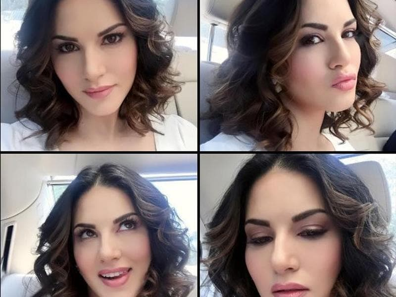 Different moods of Sunny Leone. Which is your favourite? (Instagram)