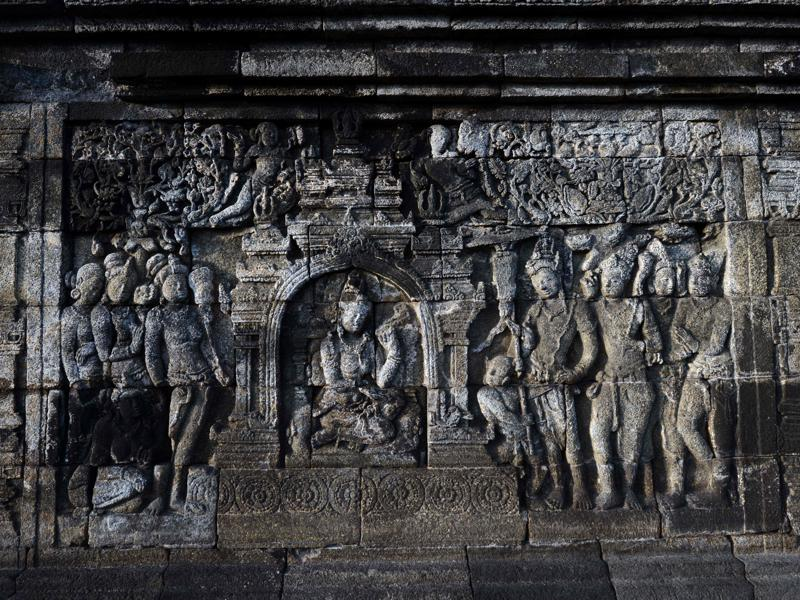 After enjoying patronage for six centuries, Borobudur was abandoned in the 14th century when Java converted to Islam. (AFP)