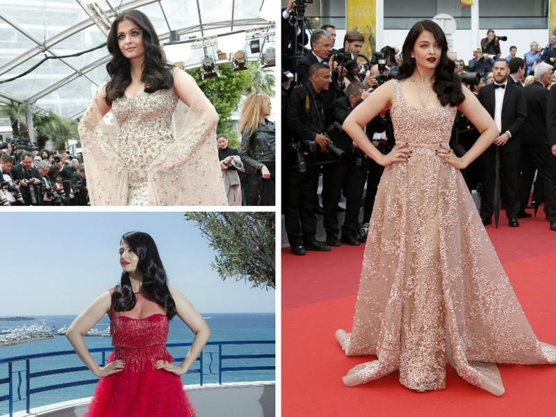 Three appearances, three wins: Aishwarya Rai Bachchan has stopped Cannes in its tracks with her trio of fashion statements.