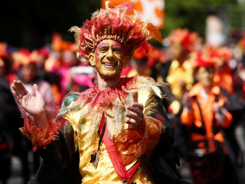 The German  for the carnival is Karneval der Kulturen. (REUTERS)