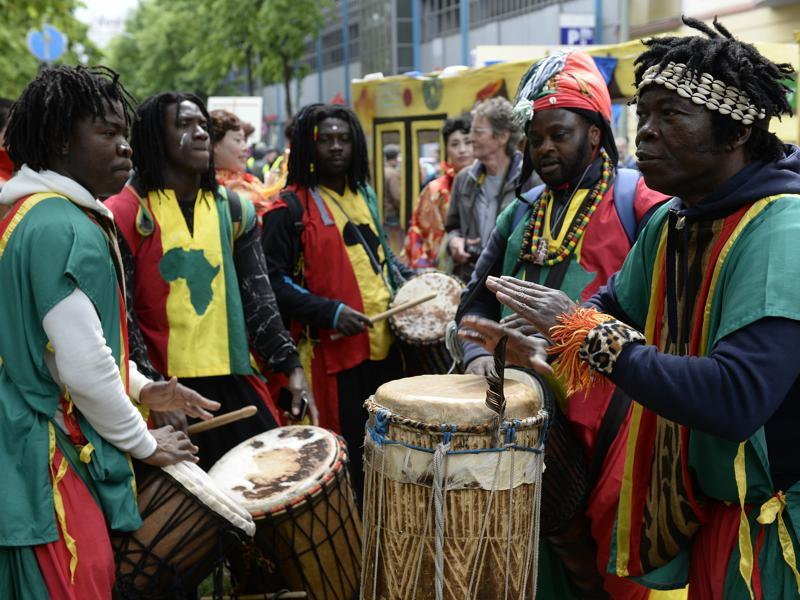 For four days before Pentecost, the Christian festival that celebrates the descent of the 'Holy Spirit' upon the apostles and other followers of Jesus Christ, Berlin celebrates its cultural diversity with the Carnival of Cultures. (AP)
