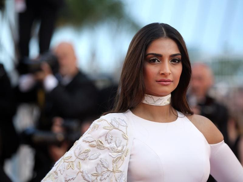 Sonam Kapoor at the screening of the film Mal De Pierres at the 69th international film festival, Cannes on May 15, 2016.  (AP)