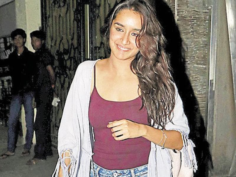 Shraddha Kapoor was spotted at the airport. (Photo: Yogen Shah)