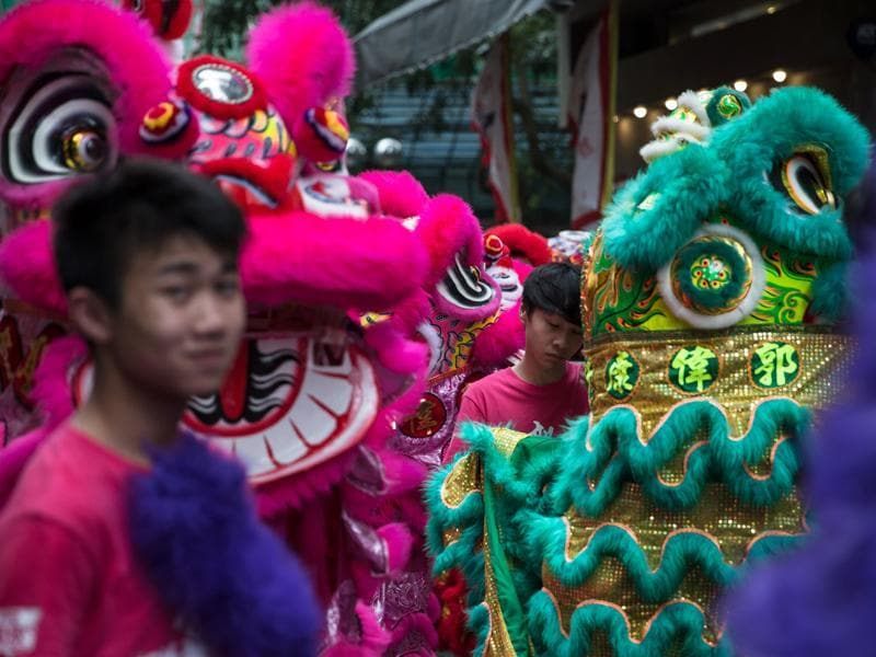 In the Chinese folk legends, Tam Kung also forecasts the weather and is popular among people of Hong Kong and Taiwan. (AFP)