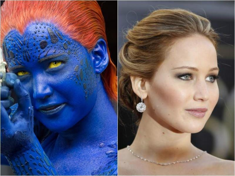 Rebecca was replaced by the Oscar-winning actor Jennifer Lawrence in X-Men: First Class. She gave a more serious edge to  the character. (Fox/AP)