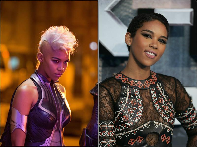 Alexandra Shipp will play the young Storm in X-Men: Apocalypse. (Fox/AP)