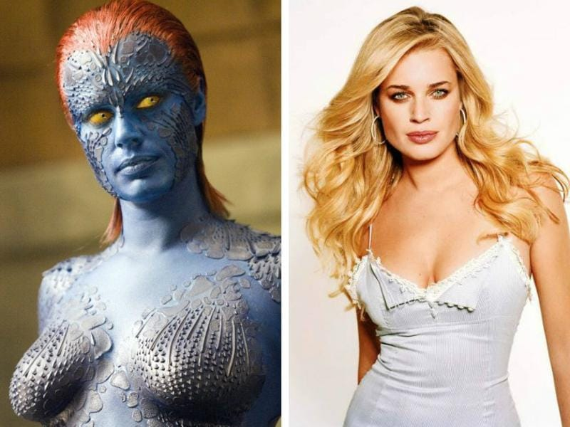 Rebecca Romijn played the very first Mystique in all the three original X-Men movies and made a name for her amazing and fit body and that mischievous smile. (FoX/Twitter)