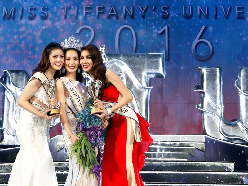 Miss Tiffany's Universe is a beauty contest with transgender contestants held in Pattaya, Thailand every May. (REUTERS)