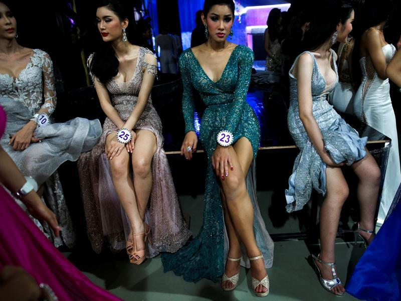 Winners are chosen in categories such as Miss Photogenic, Miss Sexy Star, Miss Congeniality and Miss Popular Vote as well in the contest. (REUTERS)