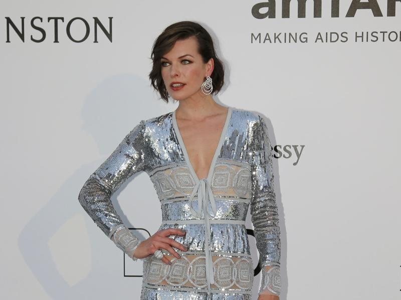The Fifth Element star Milla Jovovich poses during a photocall (REUTERS)