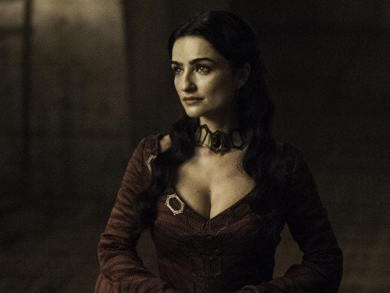 Who dat!? Looks like Melisandre has competition. (HBO)