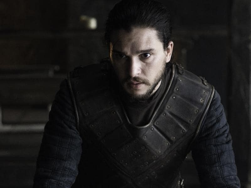 Former Commander of the Night's Watch Jon Snow finally got a better sense of fashion after returning from the dead. (HBO)