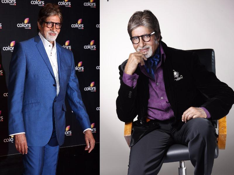 Amitabh Bachchan is a timeless style legend for the entire nation. His style is classic and we love it when he experiments with colour.