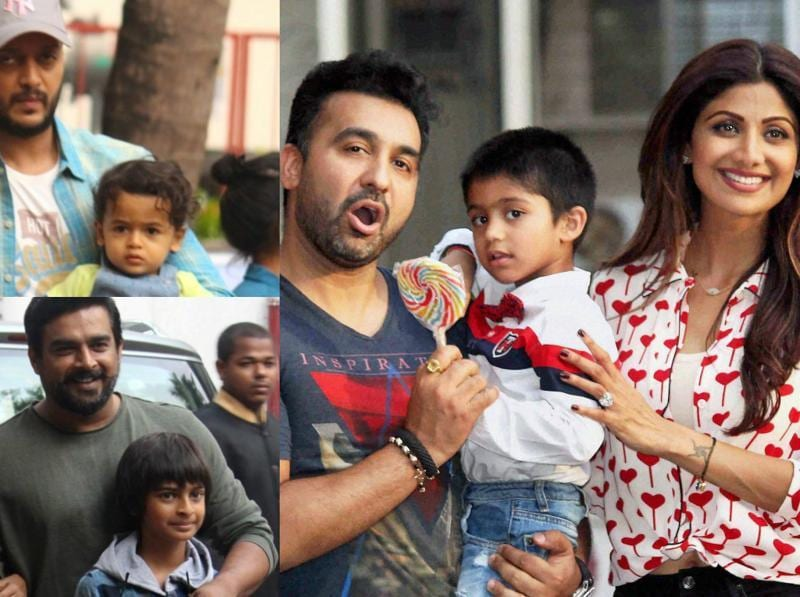 Shilpa Shetty's son Viaan celebrated his fourth birthday with stars kids of Bollywood.  Aishwarya, Riteish Deshmukh, R Madhavan and Ayushmann Khurrana were present with their kids, along with other stars from the industry.