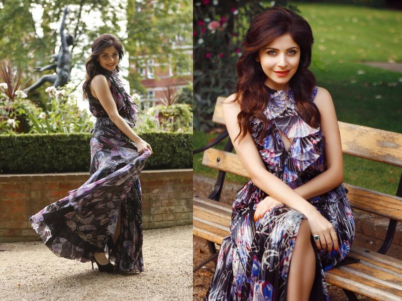 Singer Kanika Kapoor is super stylish and she keeps changing and mixing things up to add panache to her style. (HT Photo)