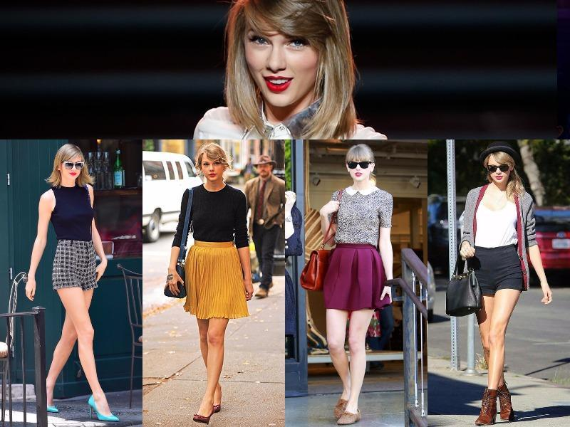 We interrupt your regular Monday routine to bring you Taylor Swift-inspired looks we can't wait for you to see (and try, if you will). (Pinterest)