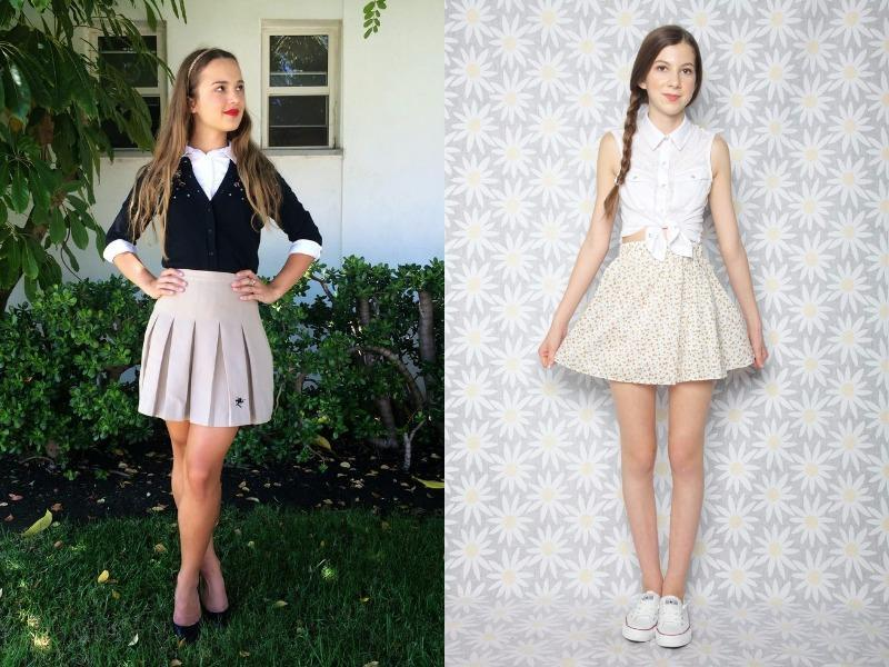 Here, we've gathered 13 of our favourite schoolgirl-inspired looks that any modern woman could easily pull off for work, school or play. (Pinterest)
