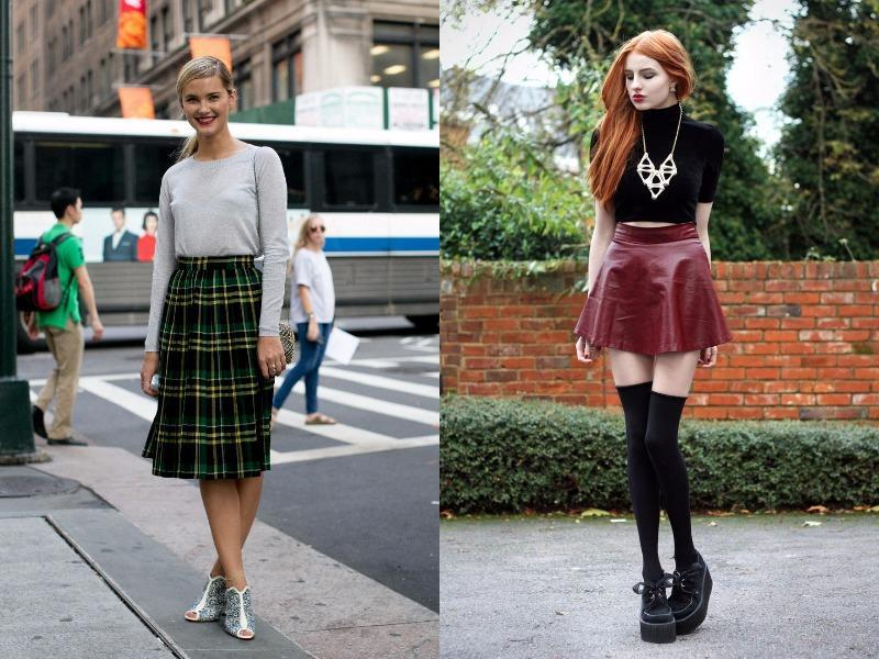 For better or worse, there's no denying that schoolgirl uniforms have been cemented in pop culture. And the fact is that certain aspects of classic school uniforms are quite on-trend: Miniskirts, pleats, button ups.  (Pinterest)
