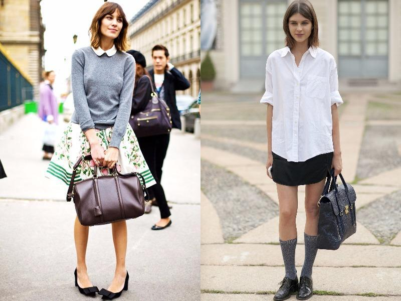 And there are ways to pull off a school uniform-inspired look without being a total cliché. Proof right here. (Pinterest)