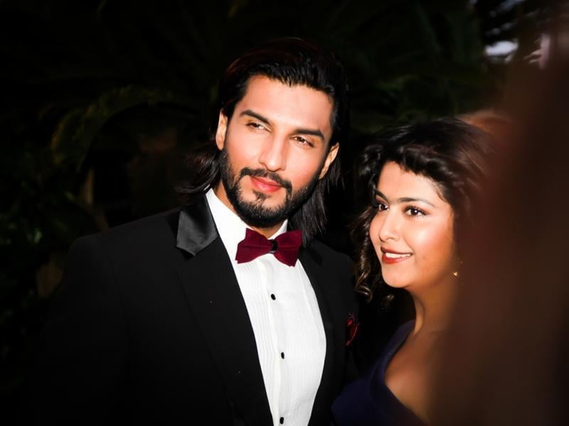 Manish Raisinghani and Avika Gor at 69th Cannes Film Festival in France.  (IANS)