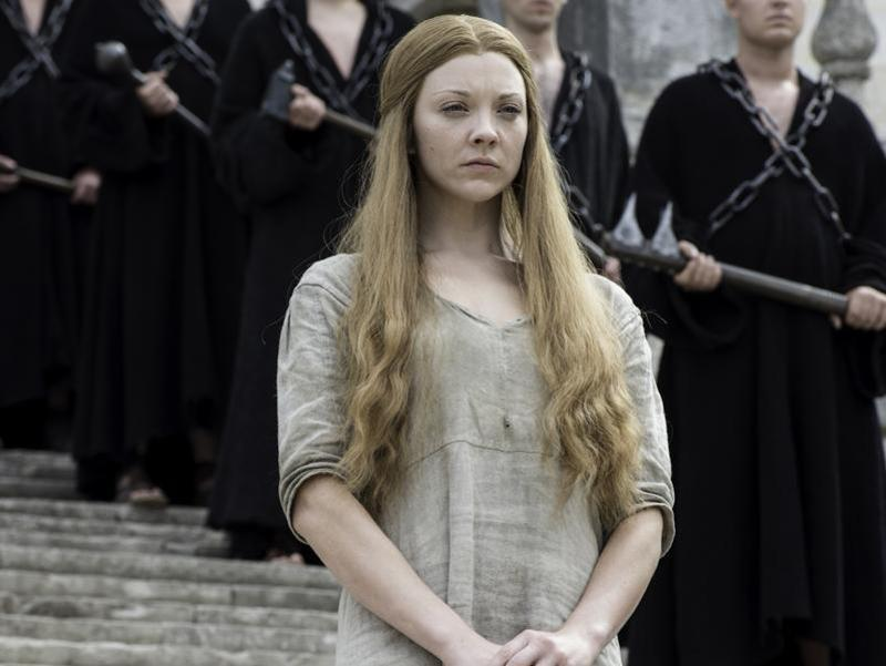 Margaery Tyrell is ready to be shamed in Game of Thrones Season 6 Episode 6 Blood of My Blood. (HBO)