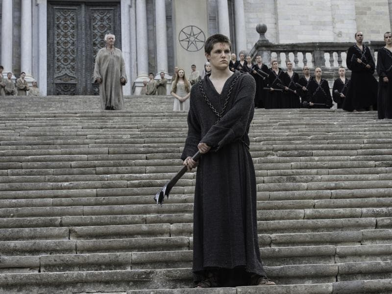 Lancel Lannister, the outcast, in Game of Thrones Season 6 Episode 6 Blood of My Blood. (HBO)