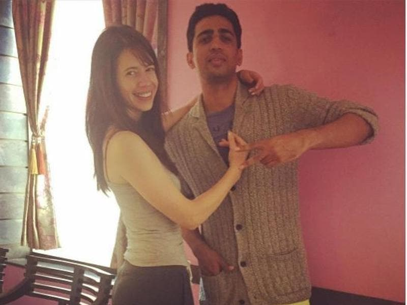 Kalki Koechlin shared a picture with her Shaitaan co-star Gulshan Deviaah as the duo celebrated his birthday on Saturday. (iNSTagram)