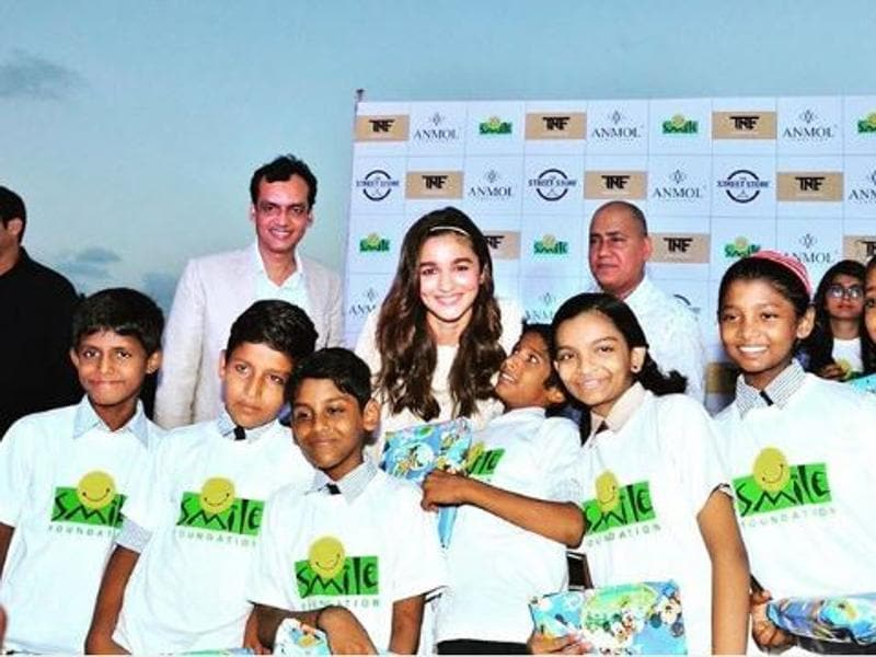 Alia Bhatt at a charity event in Mumbai. (Instagram)