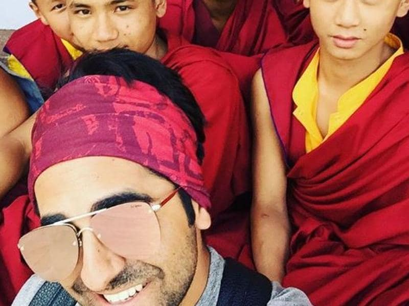 And that's how Ayushmann Khuranna is enjoying his holidays in Sikkim. (Instagram)