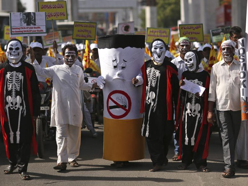 The member states of the World Health Organisation observe May 31 as World No Tobacco Day every year to draw global attention to the tobacco epidemic and the number of deaths and diseases it causes. (AP)