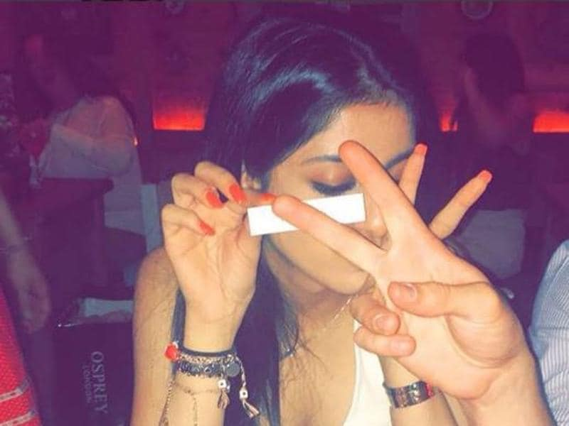 And, that's how Amitabh's grand daughter Navya Nanda spent her evening. (Instagram)
