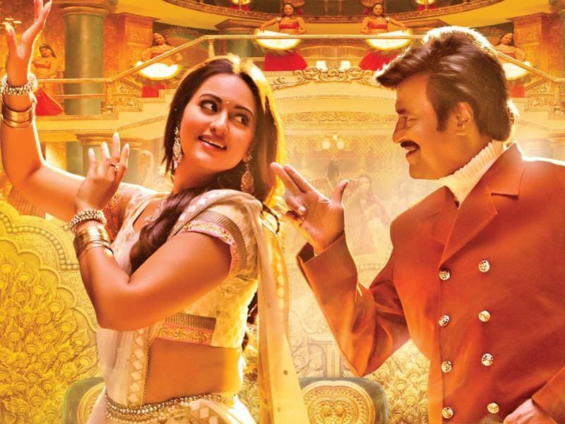 Sonakshi got a chance to work with superstar Rajinikanth in Lingaa. (YouTube)