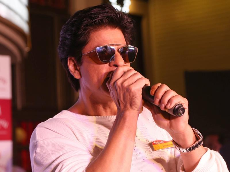 Shah Rukh Khan said he is an 'over-indulgent' dad launch of KidZania in Noida.  (IANS)