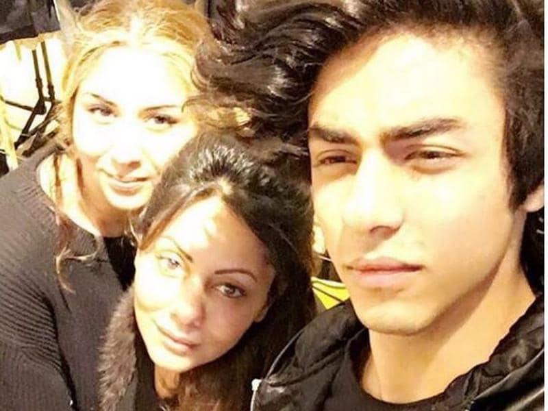 Shah Rukh Khan's son Aryan with his mom Gauri. The two are off to a shopping spree, Aryan's post reveals. (Instagram)