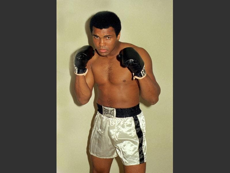 A file photo showing world-renowned boxer Muhammad Ali. (AP Photo)