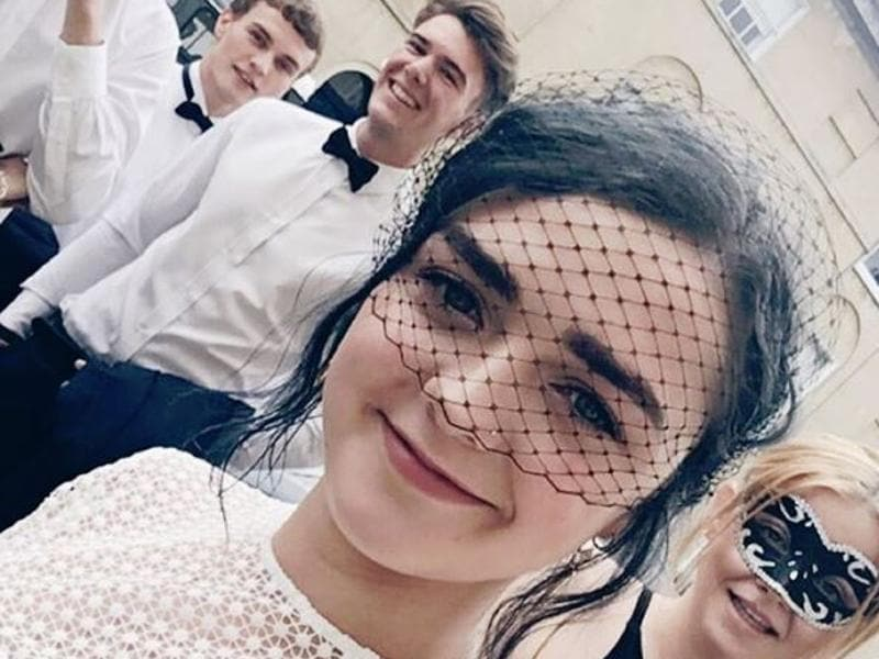 Game of Thrones' Maisie Williams is ready for the NSPCC Summer Masquerade Ball. (Instagram)