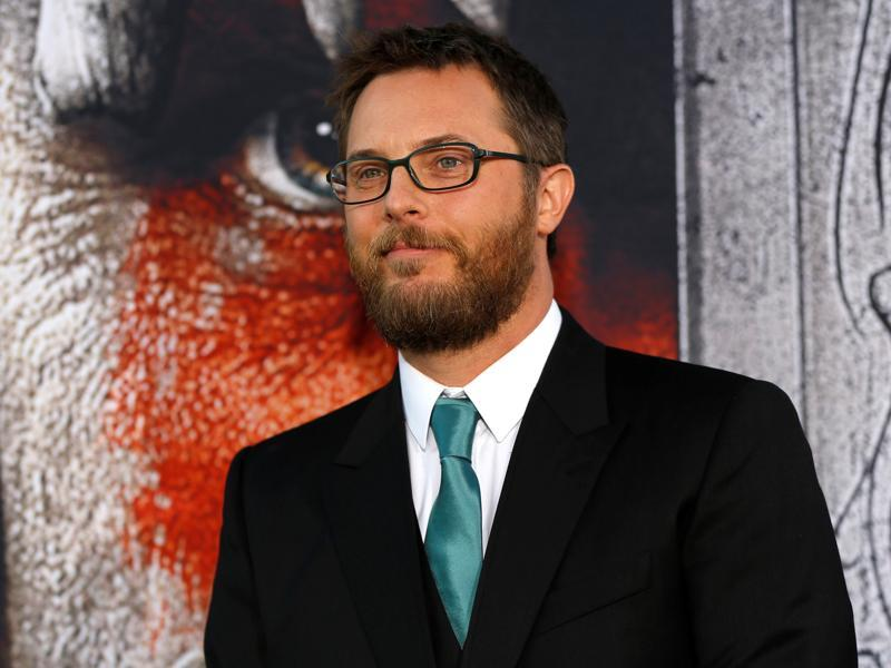 Director of Warcraft Duncan Jones poses at the premiere. (REUTERS)
