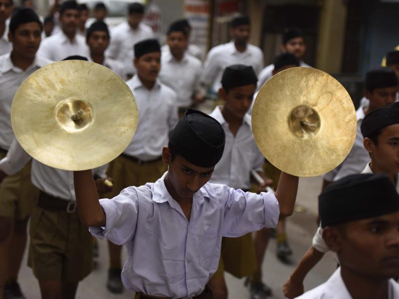 Students from many nearby schools participated in the camp.  (Sonu Mehta/HT Photo)
