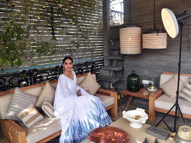 Sonam is giving us the feels: Backyard BBQs and iced lattes. (Pratham Gokhale/HT Photo)