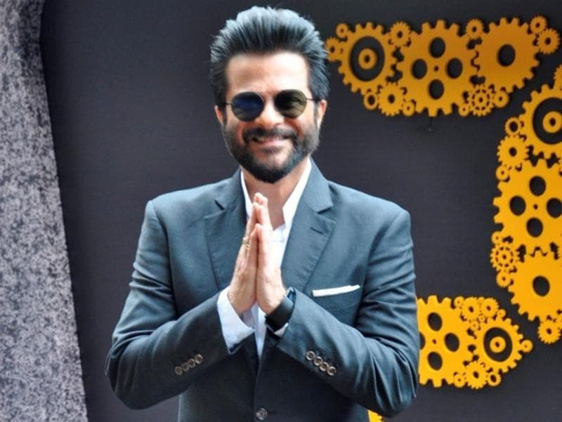Actor Anil Kapoor during press conference of TV serial 24 season 2 in Mumbai. (IANS)