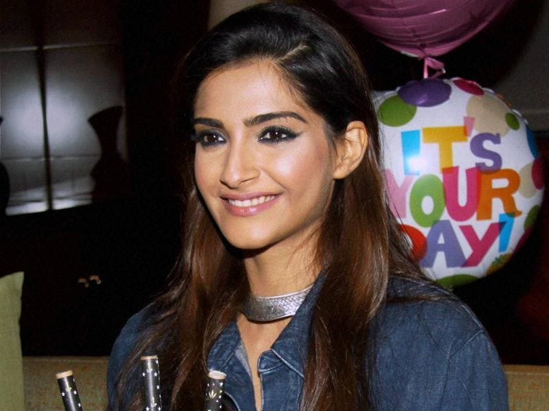 Sonam Kapoor celebrates her 31st birthday after attending a fashion show in Mumbai. (PTI)