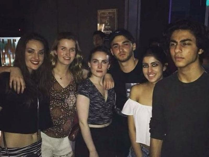 Shah Rukh Khan's son Aryan parties with friends. (Instagram)
