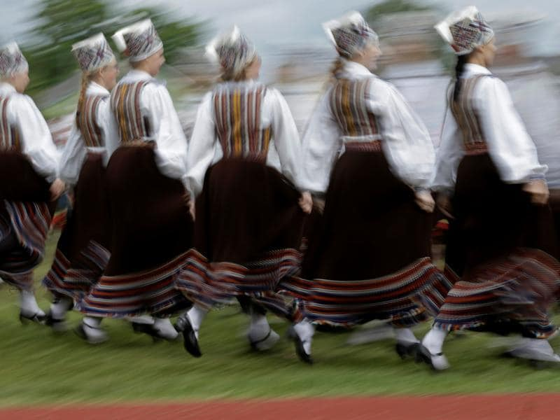 Estonian history has footprints of many nations -- from Vikings to the kings, queens and medieval merchants of German, Swedish, Danish and Russian descent.  (REUTERS)