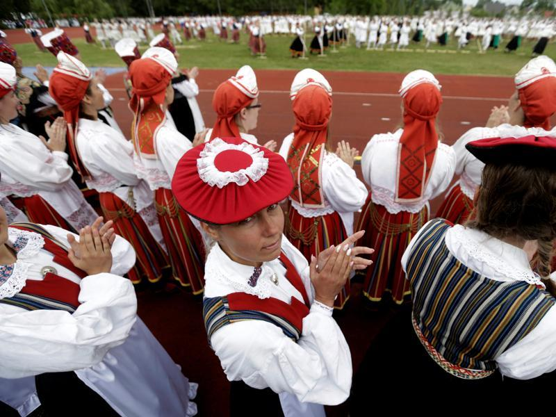 One of the most striking examples of the culture of ancient Estonians is the rhythmic verse. (REUTERS)