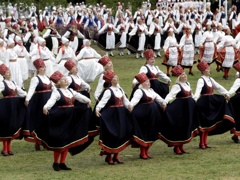The country also has an ancient aural tradition of folk song where each line is repeated several times with thematic variations. (REUTERS)